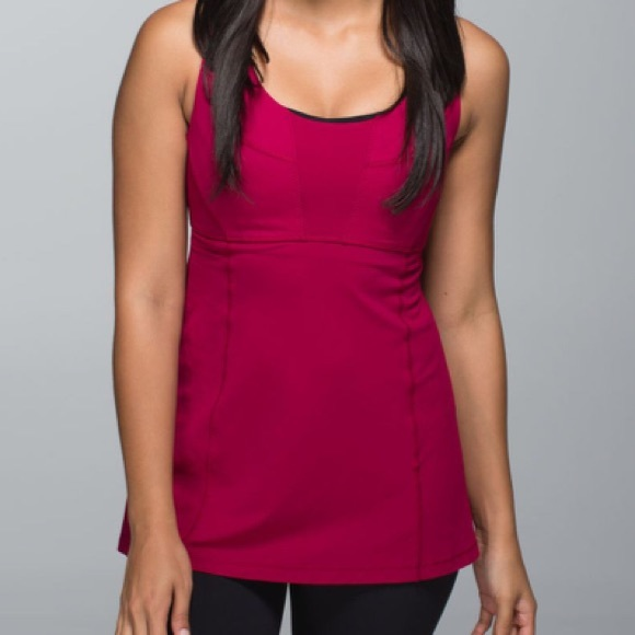 2fc39e6fa5 lululemon athletica Tops - Lululemon Wrappers Delight Tank 10 Bumble Berry